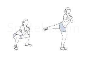 squat-side-kick-exercise-illustration